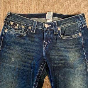 True Religion Wide Leg Jeans in size 29